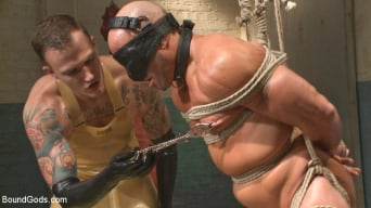 Christian Wilde in 'Christian Wilde's Latex Meat Locker'
