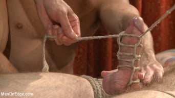 Christian Wilde in 'Edged in front of a live audience Christian Wilde blows a massive load'