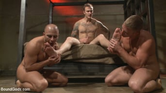 Christian Wilde in 'Newcomer vs Veteran - Slaves Compete to Satisfy Their Masters'