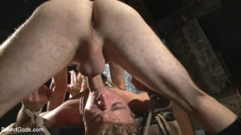 Christian Wilde in 'Take the pain and suck that cock!'