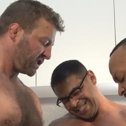 Colby Jansen in 'Kink Men' American Gangbang: Pierce Paris Restrained and Fucked RAW (Thumbnail 2)