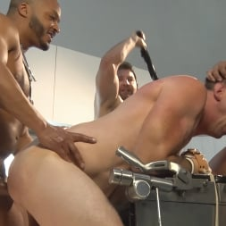 Colby Jansen in 'Kink Men' American Gangbang: Pierce Paris Restrained and Fucked RAW (Thumbnail 7)