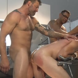 Colby Jansen in 'Kink Men' American Gangbang: Pierce Paris Restrained and Fucked RAW (Thumbnail 11)