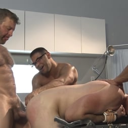 Colby Jansen in 'Kink Men' American Gangbang: Pierce Paris Restrained and Fucked RAW (Thumbnail 14)