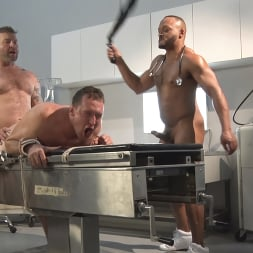 Colby Jansen in 'Kink Men' American Gangbang: Pierce Paris Restrained and Fucked RAW (Thumbnail 16)