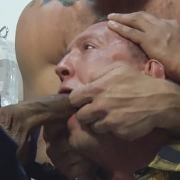 Colby Jansen in 'Kink Men' American Gangbang: Pierce Paris Restrained and Fucked RAW (Thumbnail 21)