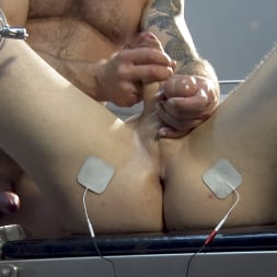 Colby Jansen in 'Kink Men' American Gangbang part 2: Pierce Paris Electrified and Fucked RAW (Thumbnail 10)