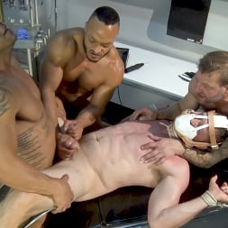 Colby Jansen in 'Kink Men' American Gangbang part 2: Pierce Paris Electrified and Fucked RAW (Thumbnail 12)
