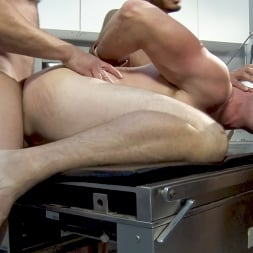 Colby Jansen in 'Kink Men' American Gangbang part 2: Pierce Paris Electrified and Fucked RAW (Thumbnail 13)