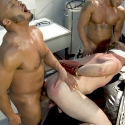 Colby Jansen in 'Kink Men' American Gangbang part 2: Pierce Paris Electrified and Fucked RAW (Thumbnail 17)