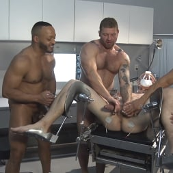 Colby Jansen in 'Kink Men' American Gangbang part 2: Pierce Paris Electrified and Fucked RAW (Thumbnail 20)