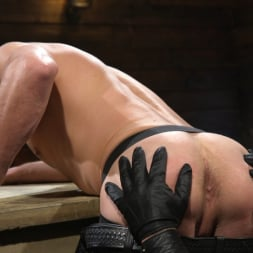 Colby Jansen in 'Kink Men' Newcomer Sean Maygers Gets Bound and Fucked By Huge Stud Colby Jansen (Thumbnail 1)