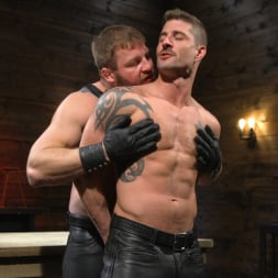 Colby Jansen in 'Kink Men' Newcomer Sean Maygers Gets Bound and Fucked By Huge Stud Colby Jansen (Thumbnail 2)