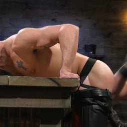 Colby Jansen in 'Kink Men' Newcomer Sean Maygers Gets Bound and Fucked By Huge Stud Colby Jansen (Thumbnail 3)
