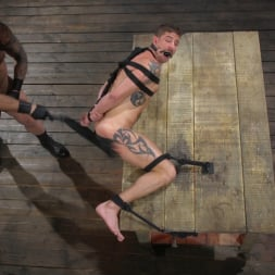 Colby Jansen in 'Kink Men' Newcomer Sean Maygers Gets Bound and Fucked By Huge Stud Colby Jansen (Thumbnail 12)