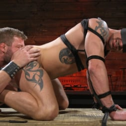 Colby Jansen in 'Kink Men' Newcomer Sean Maygers Gets Bound and Fucked By Huge Stud Colby Jansen (Thumbnail 17)