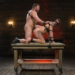 Colby Jansen in 'Kink Men' Newcomer Sean Maygers Gets Bound and Fucked By Huge Stud Colby Jansen (Thumbnail 19)