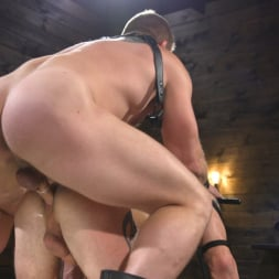 Colby Jansen in 'Kink Men' Newcomer Sean Maygers Gets Bound and Fucked By Huge Stud Colby Jansen (Thumbnail 21)