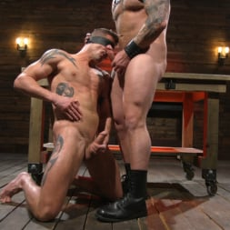 Colby Jansen in 'Kink Men' Newcomer Sean Maygers Gets Bound and Fucked By Huge Stud Colby Jansen (Thumbnail 23)