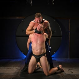 Colby Jansen in 'Kink Men' The Emasculation of Pierce Paris: Daddy Colby Jansen Stuffs Pierce RAW (Thumbnail 1)
