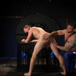 Colby Jansen in 'Kink Men' The Emasculation of Pierce Paris: Daddy Colby Jansen Stuffs Pierce RAW (Thumbnail 10)
