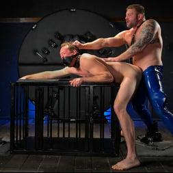 Colby Jansen in 'Kink Men' The Emasculation of Pierce Paris: Daddy Colby Jansen Stuffs Pierce RAW (Thumbnail 12)