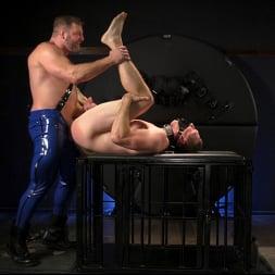 Colby Jansen in 'Kink Men' The Emasculation of Pierce Paris: Daddy Colby Jansen Stuffs Pierce RAW (Thumbnail 15)