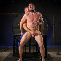 Colby Jansen in 'Kink Men' The Emasculation of Pierce Paris: Daddy Colby Jansen Stuffs Pierce RAW (Thumbnail 17)