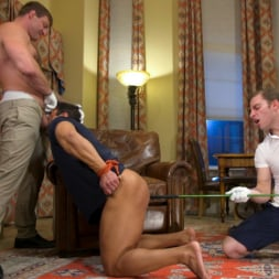 Colby Jansen in 'Kink Men' Valentine's Visitors: Draven Navarro Gets Whipped and DP'd (Thumbnail 2)