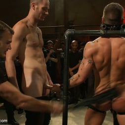 Cole Streets in 'Kink Men' Adam Knox gets caught in a cum fest (Thumbnail 1)