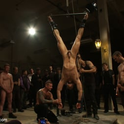 Cole Streets in 'Kink Men' Adam Knox gets caught in a cum fest (Thumbnail 3)