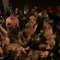 Cole Streets in 'Kink Men' Adam Knox gets caught in a cum fest (Thumbnail 5)