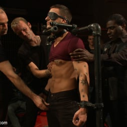Cole Streets in 'Kink Men' Adam Knox gets caught in a cum fest (Thumbnail 11)