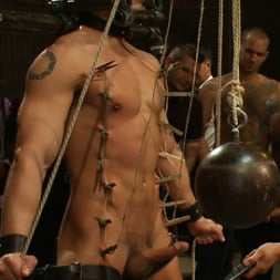 Cole Streets in 'Kink Men' Adam Knox gets caught in a cum fest (Thumbnail 14)