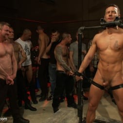Cole Streets in 'Kink Men' Adam Knox gets caught in a cum fest (Thumbnail 15)