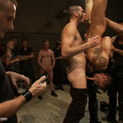 Cole Streets in 'Kink Men' Adam Knox gets caught in a cum fest (Thumbnail 16)