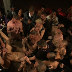 Cole Streets in 'Kink Men' BONUS UPDATE FROM BOUND IN PUBLIC Adam Knox gets caught in a cum fest (Thumbnail 12)