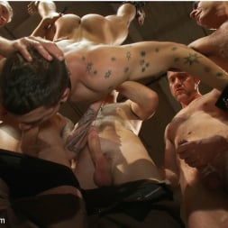 Cole Streets in 'Kink Men' BONUS UPDATE FROM BOUND IN PUBLIC Adam Knox gets caught in a cum fest (Thumbnail 16)