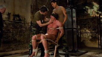 Daddy Zeus in 'Interrogating Derek Pain - Live Shoot'