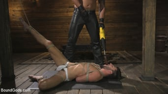 Dakota Rivers in 'Horny Sub is Tormented With the Fucksaw and Hot Wax Pendulums!'
