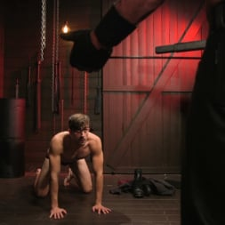 Dale Savage in 'Kink Men' Muscle Daddy Dale Savage Punishes Big-Dicked Mason Lear (Thumbnail 2)