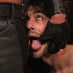 Dale Savage in 'Kink Men' Muscle Daddy Dale Savage Punishes Big-Dicked Mason Lear (Thumbnail 6)