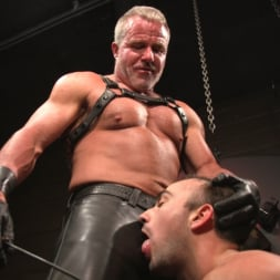 Dale Savage in 'Kink Men' Muscle Daddy Dale Savage Punishes Big-Dicked Mason Lear (Thumbnail 7)