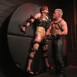 Dale Savage in 'Kink Men' Muscle Daddy Dale Savage Punishes Big-Dicked Mason Lear (Thumbnail 14)