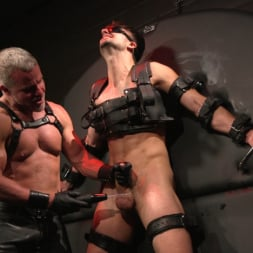 Dale Savage in 'Kink Men' Muscle Daddy Dale Savage Punishes Big-Dicked Mason Lear (Thumbnail 18)
