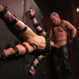 Dale Savage in 'Kink Men' Muscle Daddy Dale Savage Punishes Big-Dicked Mason Lear (Thumbnail 20)