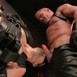 Dale Savage in 'Kink Men' Muscle Daddy Dale Savage Punishes Big-Dicked Mason Lear (Thumbnail 21)