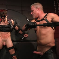 Dale Savage in 'Kink Men' Muscle Daddy Dale Savage Punishes Big-Dicked Mason Lear (Thumbnail 23)