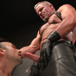 Dale Savage in 'Kink Men' Muscle Daddy Dale Savage Punishes Big-Dicked Mason Lear (Thumbnail 29)