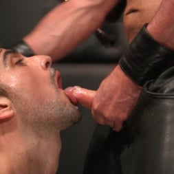 Dale Savage in 'Kink Men' Muscle Daddy Dale Savage Punishes Big-Dicked Mason Lear (Thumbnail 32)